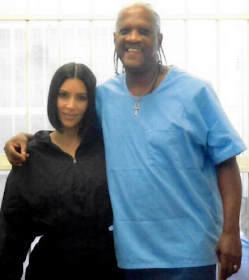 Kim Kardashian visits Kevin Cooper on death row in an effort to free him