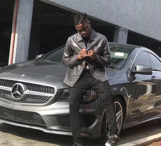 Lil Kesh shows off his brand new Mercedes Benz