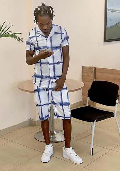 Naira Marley posts new photos, says 'Liked by EFCC'