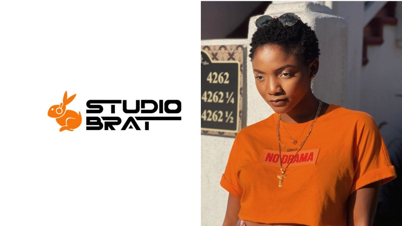 Simi Unveils Record Company Studio Brat