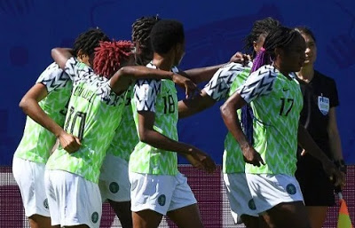 Oh dear! Super Falcons stage sit-in protest in France over unpaid allowances