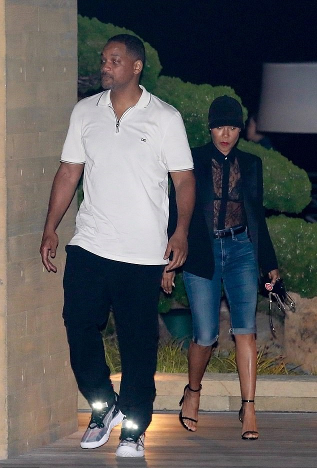 Will Smith and Jada Pinkett are spotted out on date night at Nobu Malibu