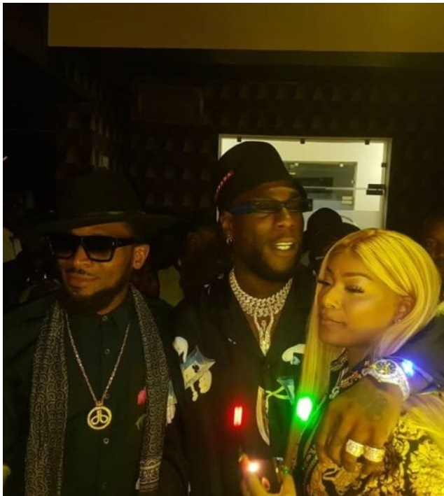 Burna Boy brings Stefflon Don to Nigeria to celebrate his 28th birthday (photos)