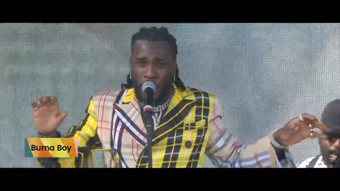 Burna Boy Wins 'Best African Act – Male At Ghana Entertainment Awards USA