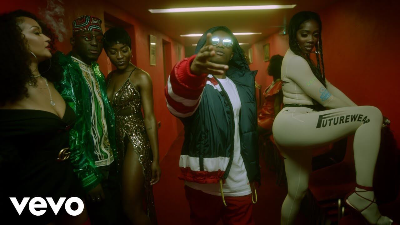 VIDEO: DJ Spinall X Wizkid X Tiwa Savage – Dis Love