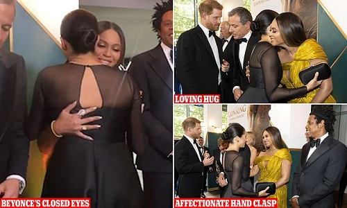 Beyonce upstages Meghan Markle as body language confirms who's the real queen