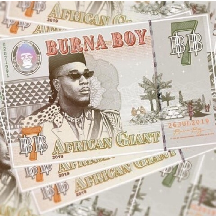Burna Boy Unveils 'African Giant' Cover Art & Release Date