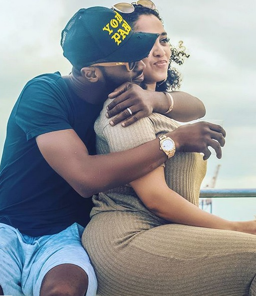 D'banj & wife, Lineo Didi Kilgrow in new loved up photo