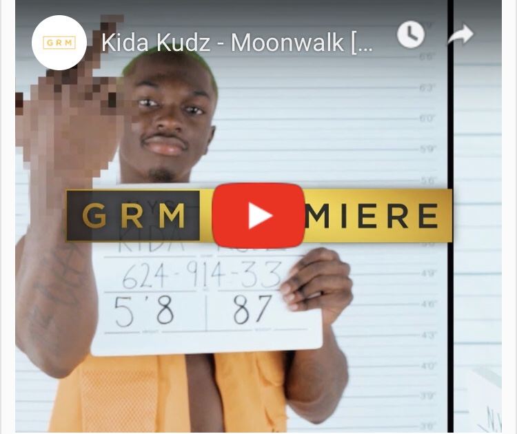 VIDEO: Kida Kudz – Moonwalk (Freestyle)