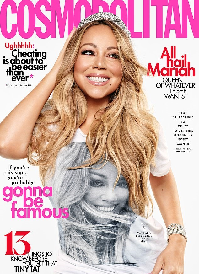 Mariah Carey reveals she felt like a prisoner in her first marriage & says she has only slept with 5 men all her life