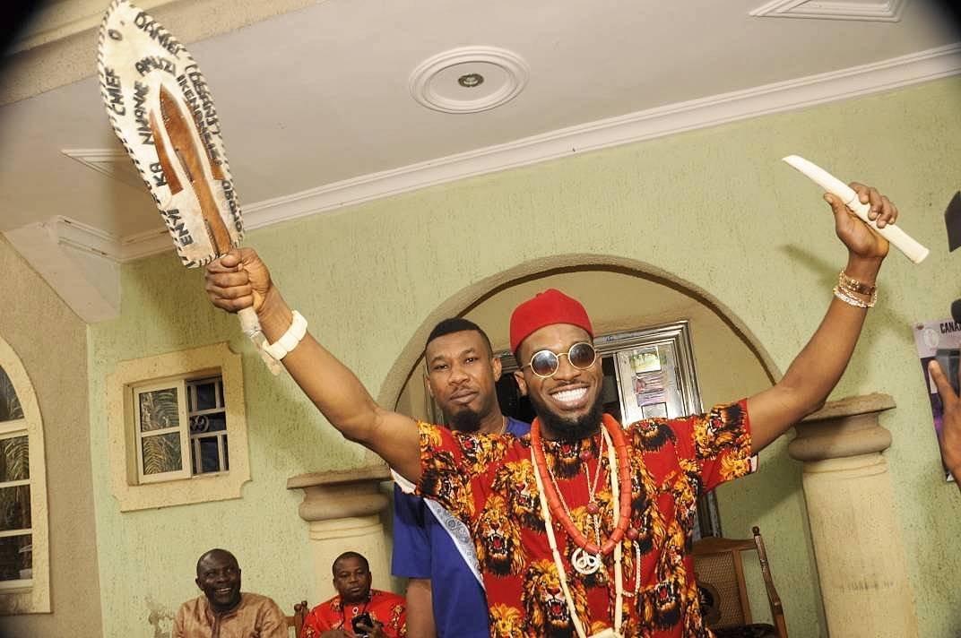 D'banj Hints He's About To Be A Father Again