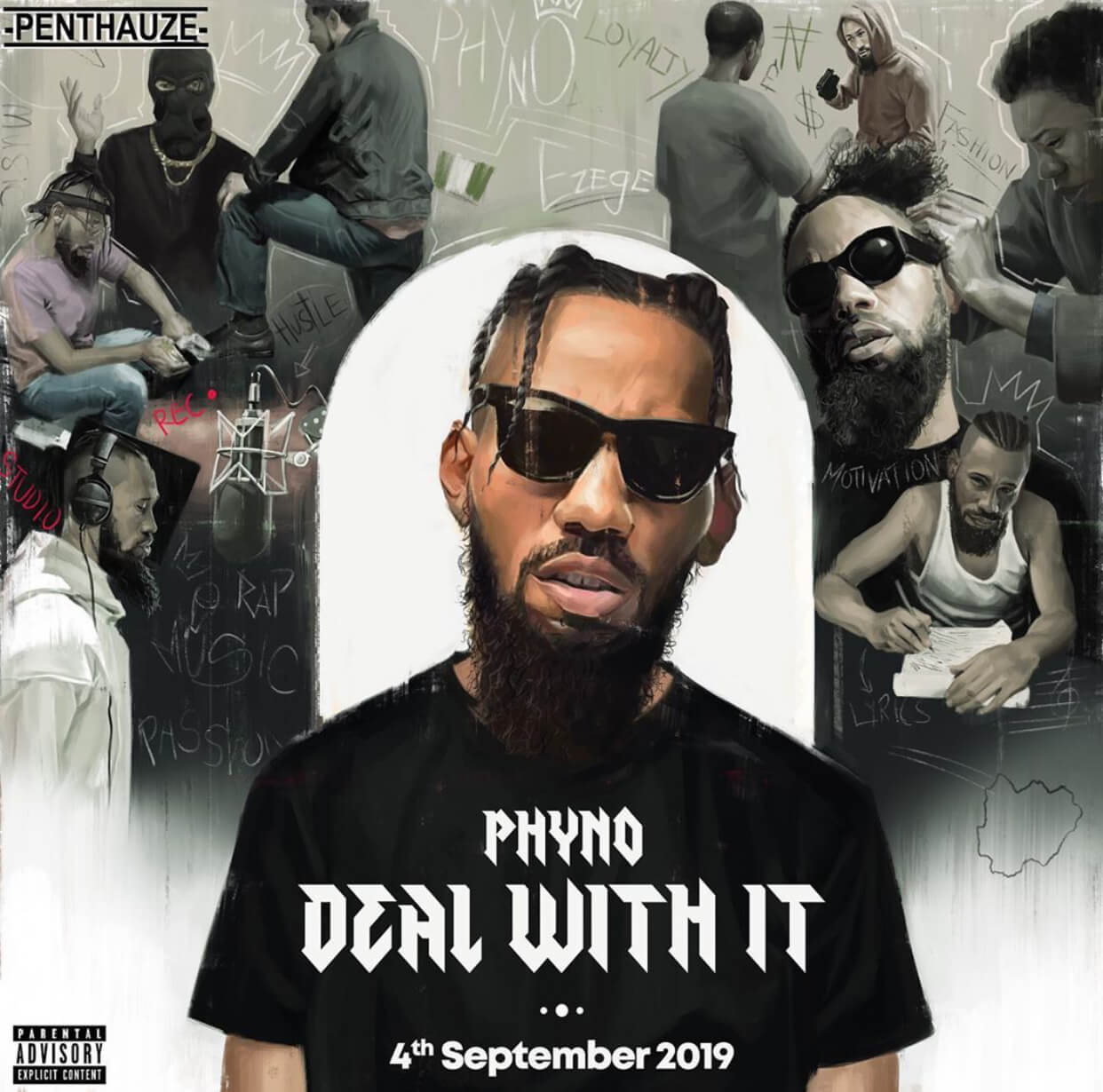 """Phyno Unveils Tracklist For His New Album """"Deal With It"""""""
