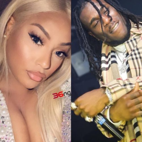 Steflon Don Denies Break-up With Burna Boy, Says They Are Doing Perfectly Well Together
