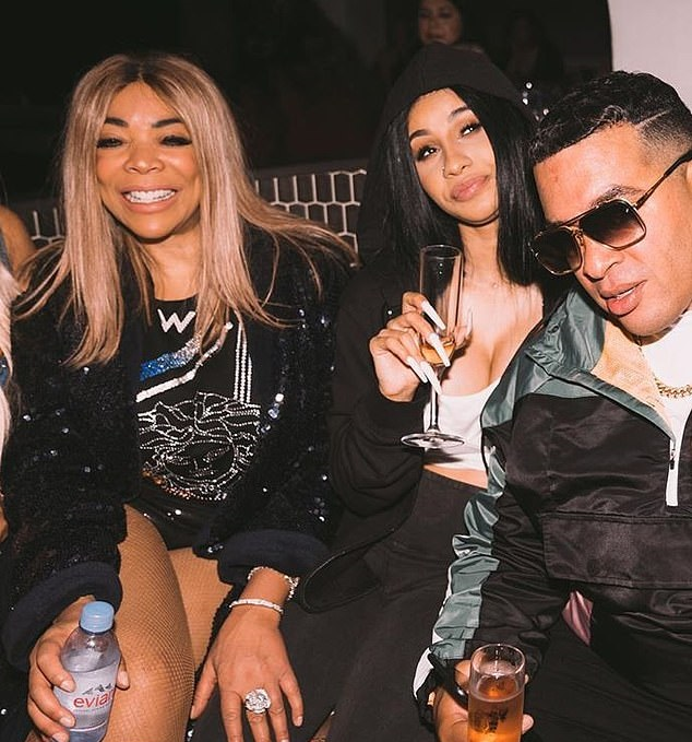 Cardi B and Wendy Williams party together (photos)