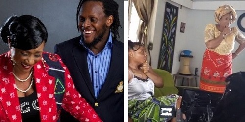 Clarion Chukwurah excited about working with her son, Clarence Peters