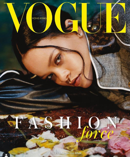 Rihanna covers September issue of Vogue Hong Kong