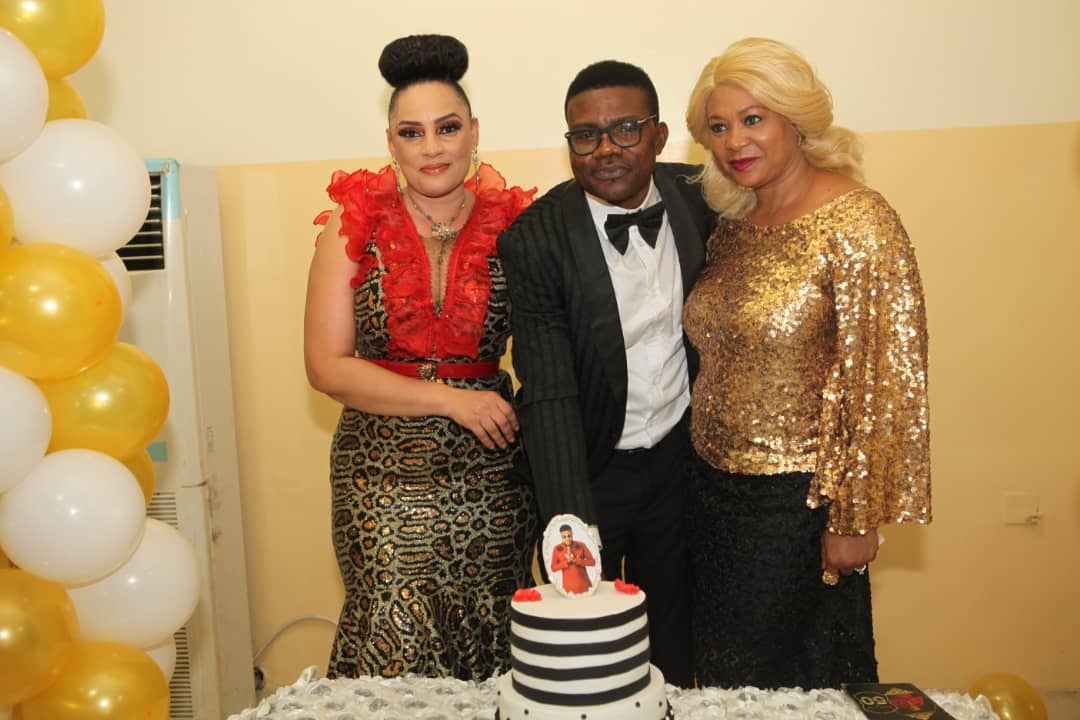 "Check out memorable pictures from the 50th birthday celebration of ""Felix Duke""."