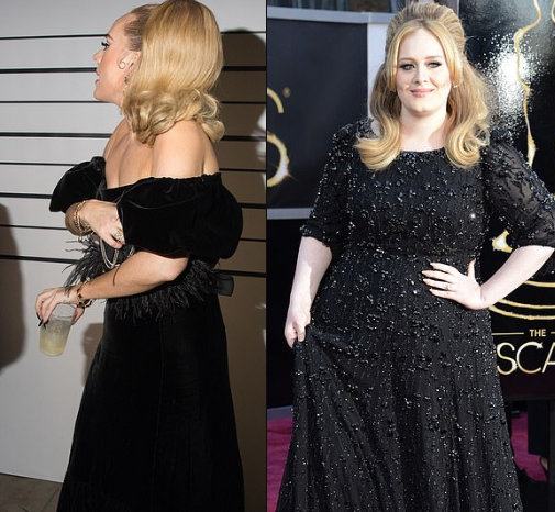 Singer Adele shows off incredible weight loss at Drake's birthday party