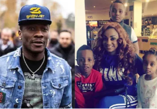 Court orders Ghanaian striker, Asamoah Gyan to pay his estranged wife £18,450.74 as maintenance fee