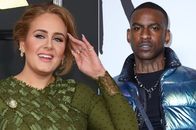 Adele takes romance with Skepta to next level