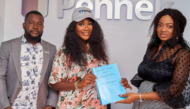Mercy Johnson signs ambassadorial deal with Pennek