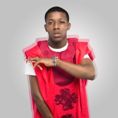 EndSARS: Small Doctor Spotted in Lagos Protest