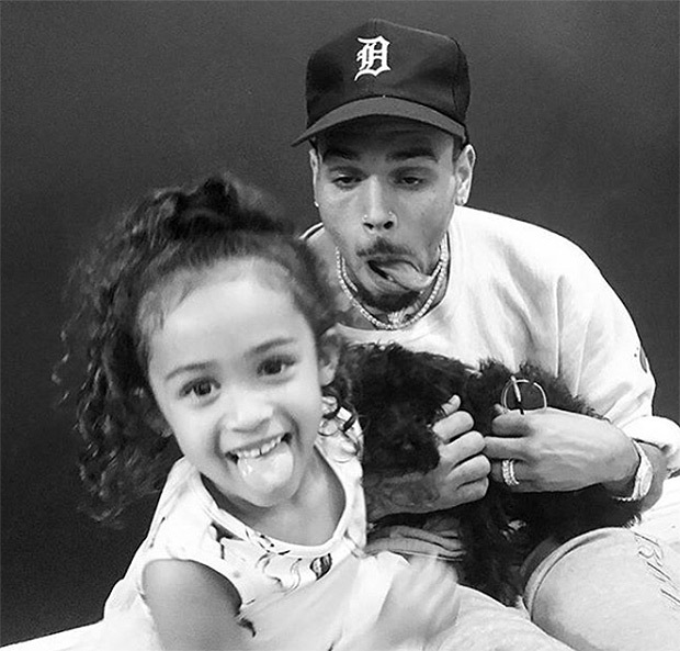 Chris Brown Shares Adorable Video Of Daughter, Royalty Dancing Like Micheal Jackson