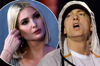 Eminem questioned by Secret Service over violent lyrics about Ivanka Trump