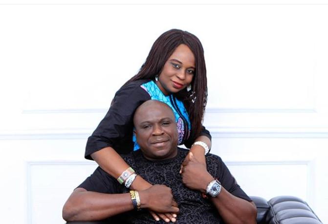 Gbenga Adeyinka and wife, Abiola celebrate 25th wedding anniversary