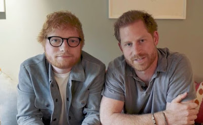 Prince Harry and Ed Sheeran release hilarious video poking fun at their hair