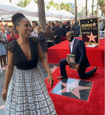Tyler Perry gets a star on the Hollywood Walk Of Fame