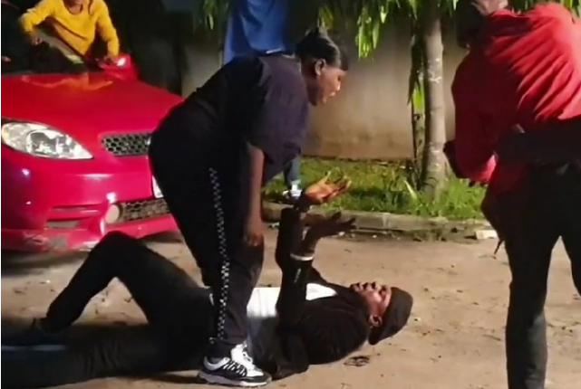 Odunlade Adekola and singer Teni fight on movie set