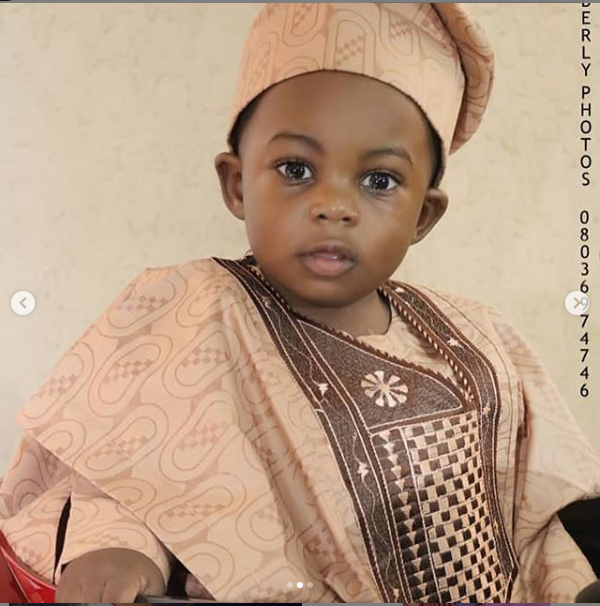 Yvonne Jegede celebrates her son Xavier as he clocks one-year-old today