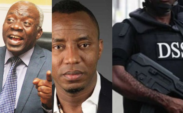 Omoyele Sowore embarks on hunger strike in DSS detention over rights' violations