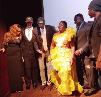 Reno Omokri, Egor Efiok, Atiku's son shine at the Hollywood Weekly Film festival in Los Angeles