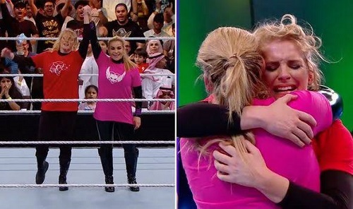WWE holds historic first-ever women's wrestling match in Saudi Arabia