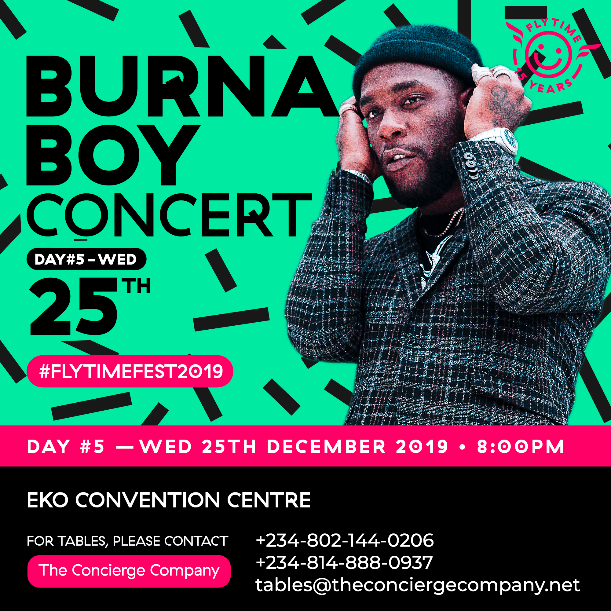 CHRISTMAS DAY WITH BURNA BOY LIVE AT THE FLYTIME MUSIC FESTIVAL!