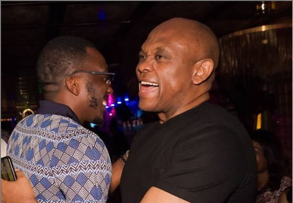 Bovi shares his encounter with billionaire Tony Elumelu in a club