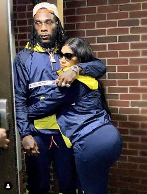 Burna Boy unfollows everyone on Instagram except his girlfriend — Steff London