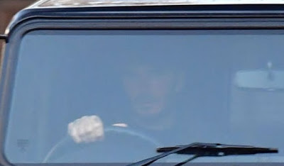 David Beckham pictured back behind the wheel after driving ban is lifted