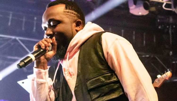 Ice Prince performs at Jidenna's '85 to Africa' tour