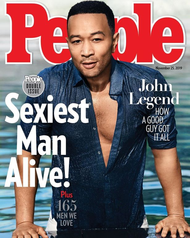 John Legend crowned 'sexiest man alive 2019'