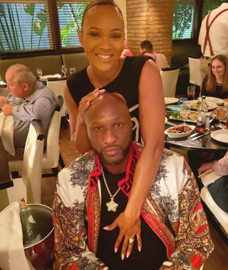 Lamar Odom gets engaged just four months into his new relationship