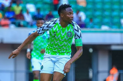 Super Eagles captain, Ahmed Musa returns to pitch