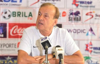 Super Eagles coach, Rohr ranked 19th on World's Top 20 Best National Coaches' list