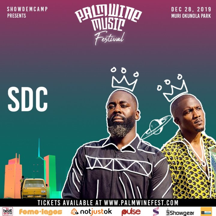 "SDC, Vector, Ycee, BOJ, Tems & Others Set For ""Palmwine Music Fest"" 2019"