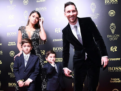 Lionel Messi wins Ballon d'Or for sixth time + his acceptance speech