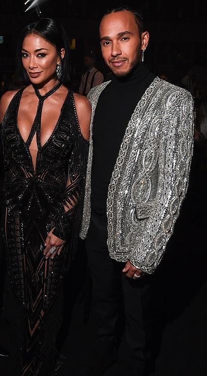 Nicole Scherzinger reunites with ex Lewis Hamilton