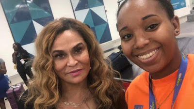 Rumours of Beyonce in Ghana almost true as her mom is spotted in the African country