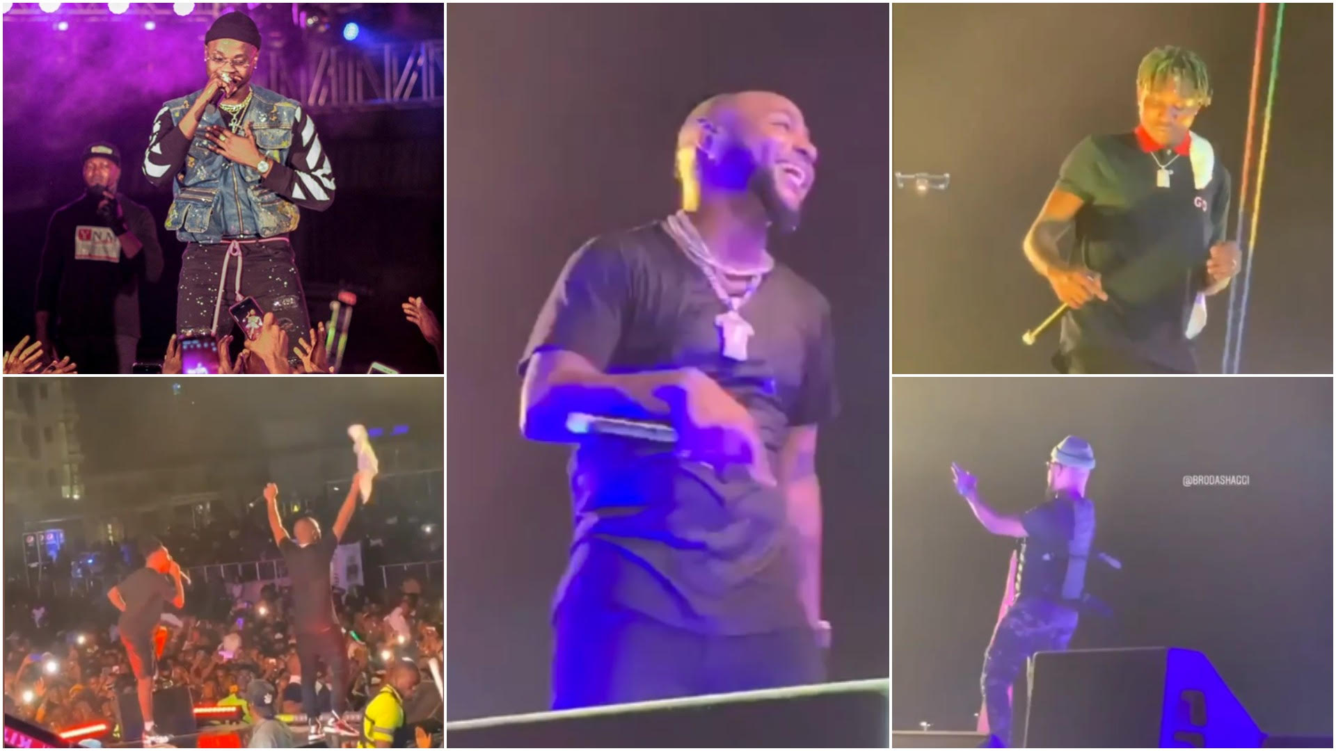 "DAVIDO, ZLATAN, KIZZ DANIEL & MAYORKUN SHUT DOWN ""A GOOD TIME"" CONCERT"
